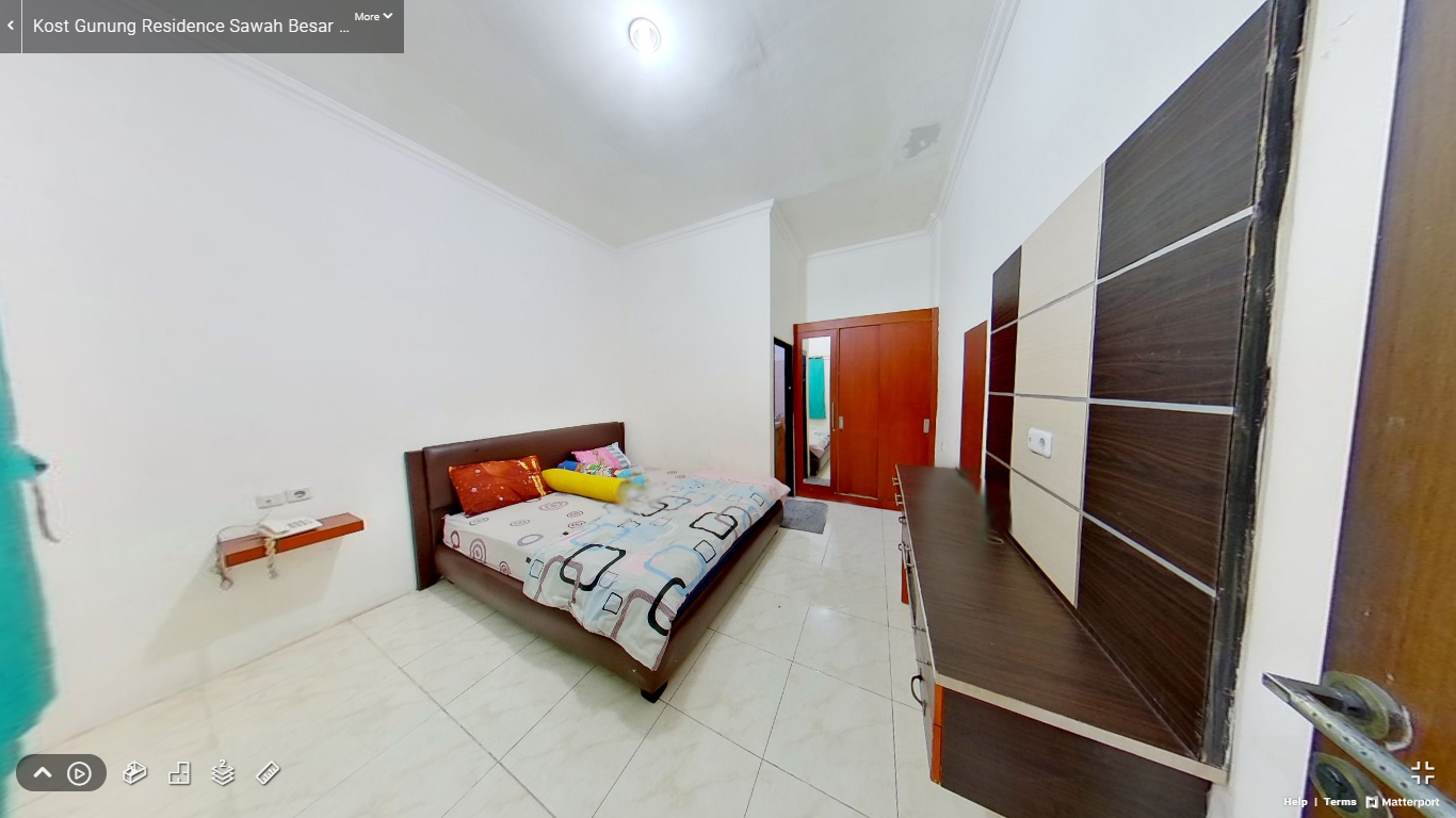 Kost Gunung Residence Sawah Besar Jakarta Pusat kamar (1)