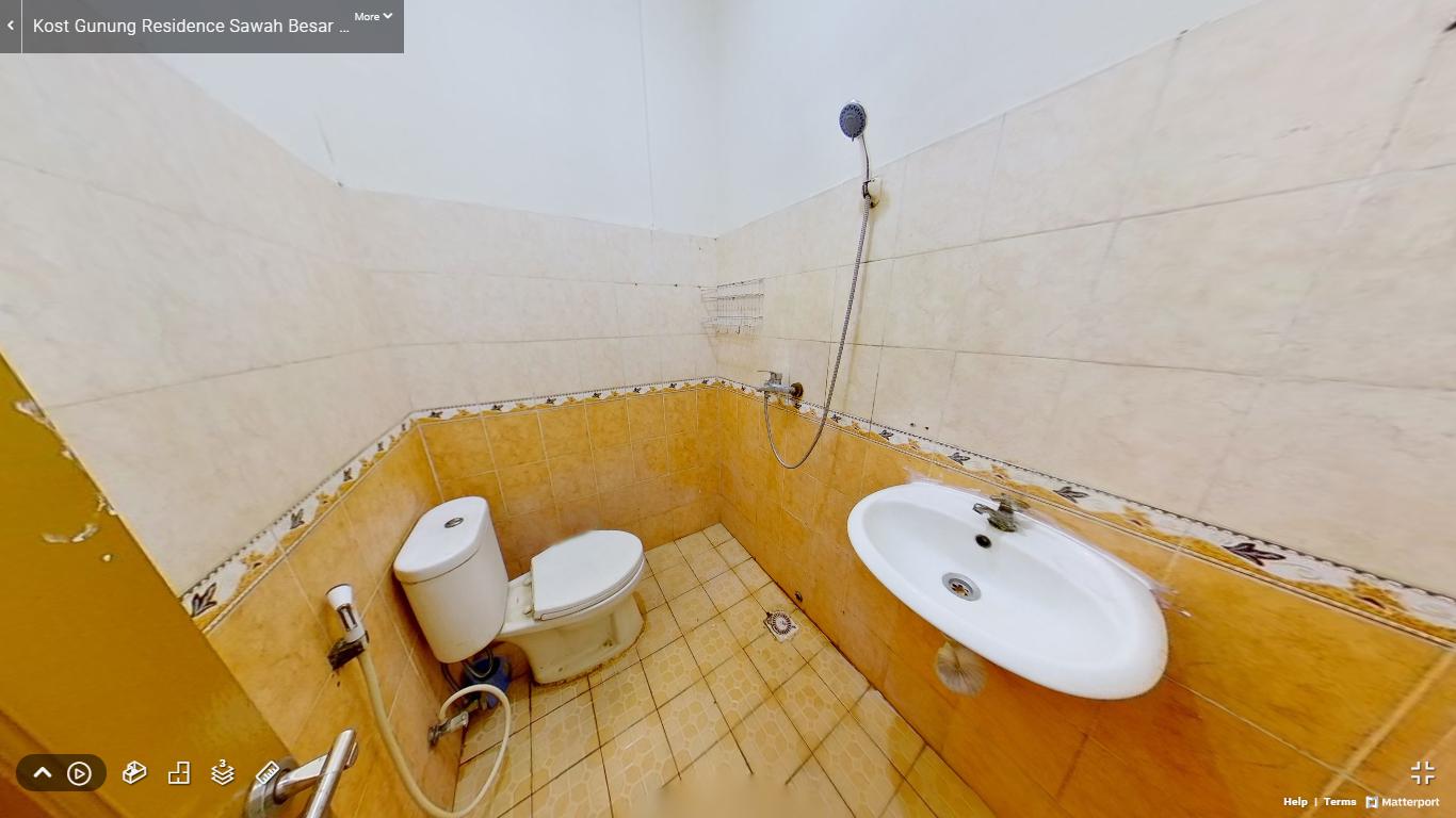 Kost Gunung Residence Sawah Besar Jakarta Pusat kamar mandi (2)