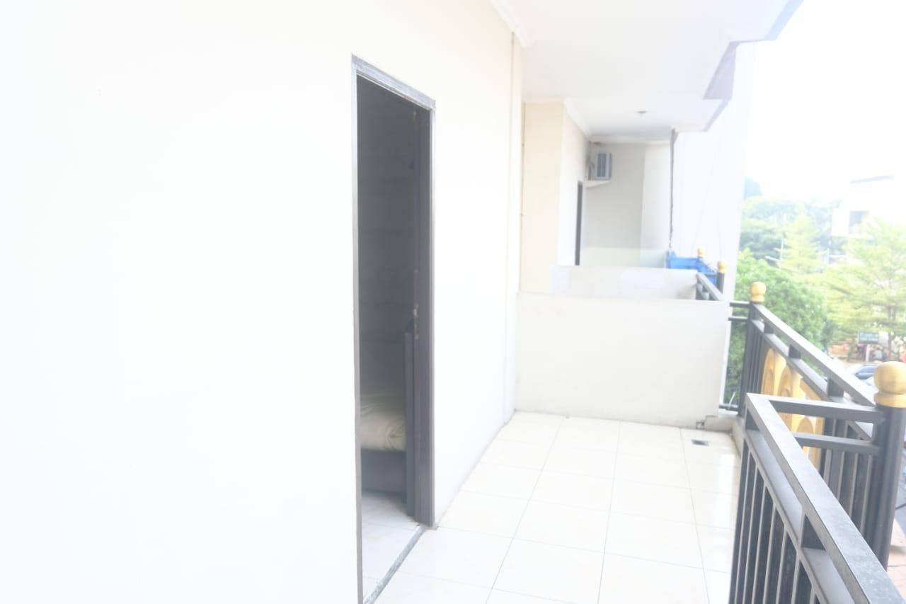 area balkon superior